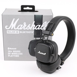 Наушники для mp4 онлайн-Маршалл майор III 3.0 2.0 Bluetooth Беспроводные наушники глубокий бас шумоизоляции гарнитура Беспроводной майор 3 Привет-Fi