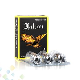 Wholesale replacement tanks - Authentic Falcon Coil Horizon Horizontech Horizon Replacement coils F1 F2 F3 M1 M2 FOR FALCON SUB OHM Tank Ecig DHL Free
