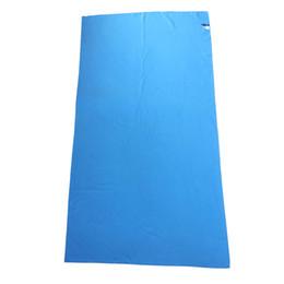 Asciugamani rapidi asciugamani viaggio online-2018 Hot asciugamano vendita Beach tessuto di Microfiber di viaggio rapida asciugatura all'aria aperta Sport Nuoto Camping Bagni Yoga Mat Blanket palestra adulti