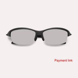 2018 NOVO link Pagamento / pay em óculos custo avanço / depósito / transporte de Fornecedores de moda coreana dos vidros pretos