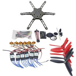 углеродное волокно rc Скидка F11798-E DIY FPV Multirotor Drone GPS APM2.8 Alien Across Carbon Fiber RC Quadrocopter Motor ESC