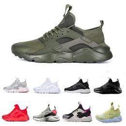 free shipping 7e791 7167b Air Huarache 4 Running Shoes Men Women Triple White Black Red Huraches 4.0  Gold Grey Outdoors Huaraches Designer Trainers Sneakers