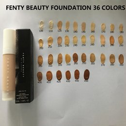 Wholesale Acne Skin - FENTY BEAUTY FOUNDATION BY RIHANNA Makeup Pro Filt Soft Matte Longwear Foundation Concealer 36 colors 32ml face makeup FREE SHIPPING INSTOCK