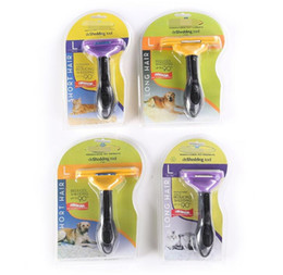 Wholesale Trim Remover Tools - Pet Comb Tool Grooming Brushes Pet Grooming Products Cats Brush Grooming Trimmer Comb Pet Hair Remover KKA4008