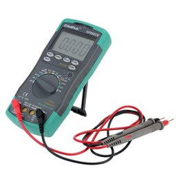 Wholesale voltage multimeter - HoldPeak HP-890CN Digital Multimeter DMM with NCV Detector DC AC Voltage Current Meter Resistance Capaticance Temperature Tester