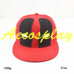 swag hats Coupons - Free shipping Deadpool Hat Snapback Caps Planas Hip Hop Cotton Baseball For Men Women Sports swag Cap Bone