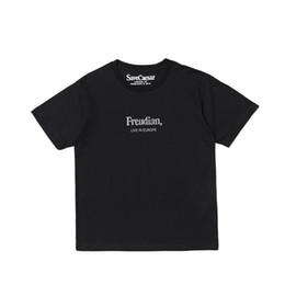 Wholesale Best Style For Men - Best Version 2018 P+Faces Freudian Printed Women Men T shirts tees Hiphop Style Men Short Sleeve Cotton T shirt For Summer