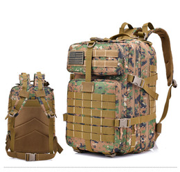 Chinese 2018 High quality hot sale 3P tactical military backpacks  enthusiasts outdoor camping 40L large capacity 1e25f5677a56a
