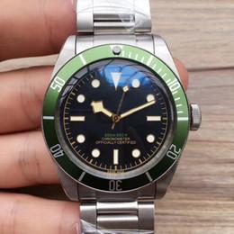Argentina 2018 Relojes de pulsera de lujo AAA Black Bay Automment Acero inoxidable Acero inoxidable Hombres Relojes para hombre Relojes Suministro