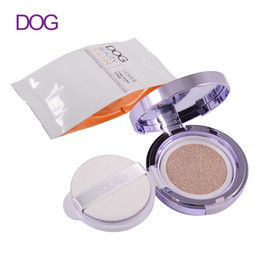 Wholesale Naked Skin Bb Cream - DOG Organic Essence cushion makeup BB Cream naked Makeup Whitening Moisturizing Concealer Face beauty korean cosmetics wholesale