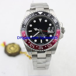 Wholesale mm parties - 8 colors luxury brand watches 40m date men automatic machinery Party watch AAA sweeping movement watches No battery model 68