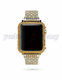 Wholesale dragon age - 24K Gold Frame For Apple Watch Series3 Slim Protect Bumper Cover For Apple Watch Series 1 Frame Cover Protective For Apple Watch With Dragon