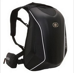 Wholesale motocross bags - New Arrivals OGIO Mach 5 Knight Backpack Waterproof Motocross backpack computer bag carbon fiber Hard shell