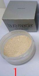 Wholesale Makeup Foundation Color - 2018 Shipping Within 24Hours Laura Mercier Foundation Loose Setting Powder Fix Makeup Powder Min Pore Brighten Concealer #1