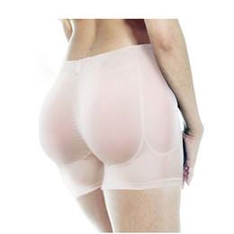 Più le mutandine delle donne di formato online-4XL Plus Size Butt Lifter Hip Enhancer Imbottito Mutandine nere Donne Sexy Tute Intimo Dimagrimento Controllo Mutandine Bodyshapers