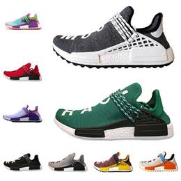 d080bd42b7821 Çin ADIDAS NMD HUMAN RACE Pharrell İNSAN YARI Koşu Ayakkabıları Trail Güneş  Glow soluk çıplak asil