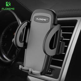 iphone 5s carro suporte ar Desconto Venda por atacado universal suporte do telefone do carro suporte de 360 graus de ventilação de ar suporte do telefone suporte do telefone do carro suporte para iphone x 8 7 6 5S samsung s8