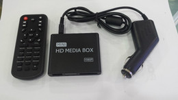 Media player para carros on-line-REDAMIGO 1080P MINI Media Player para carro Center MultiMedia Video Player Caixa de mídia com adaptador HDMI AV USB SD / MMC HDDK7 + C + A