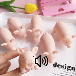 brinquedos de borracha Desconto 30 PCS Bonito Pet Suprimentos Filhote de Cachorro Chew Squeaker Squeaky Rubber Para Brinquedos Do Cão Jogar Porco Som