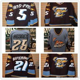 custom New Customize ECHL 2010-11 Toledo Walleye 28 Mike Hedden 5 Simon  Danis Pepin Mens Womens Kids Best quality Cheap Hockey Jerseys Goali 8a8934487