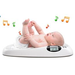 2019 alimentos dietéticos escalas de peso infantis do bebê digital da música 20kg da escala do bebê para crianças