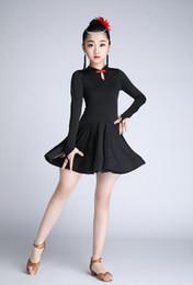 2019 mädchen latin röcke Kinder Latin Dance Kostüm Mädchen Latin Dance Rock Professional Performance Kleidung Kleidung rabatt mädchen latin röcke