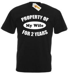 2019 jahr hochzeitsgeschenk geschenke Eigenschaft Frau 2 Jahre T-Shirt, 2. Hochzeitstag Geschenke für Männer ihm Ehemann günstig jahr hochzeitsgeschenk geschenke