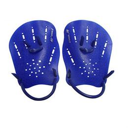 Wholesale men hand gloves - 1 Pair Swimming Paddles Training Adjustable Hand Webbed Gloves Padel Fins Flippers For Men Women Kids Learn Gear 14bn aa