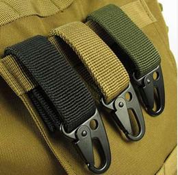 Canada EDC outil camping en plein air D-mousqueton porte-clés MOLLE sangle boucle système d'accrochage supplier belt systems Offre