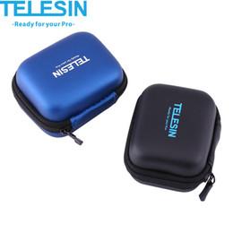 2019 schnelle schlinge kamera TELESIN mini Tragbare Wasserdichte Action Kamera Schutzhülle Tasche Aufbewahrungsbox für Hereo 5/4/3 + / 2 für Xiaomi yi 2