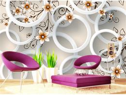 Wholesale Custom Wallpaper Designs - Custom 3D Wallpaper Design Flowers Photo Kitchen Bedroom Living Room Wall Murals Papel De Parede Para Quarto