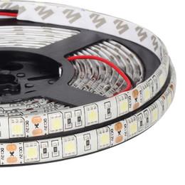 rgbw led light strips UK - 5M LED Strip Light 5050 ,60LEDs m,DC 12V LED Strip 5050 RGB ,RGBW ,RGBWW Single color Cabinet Light Flexible