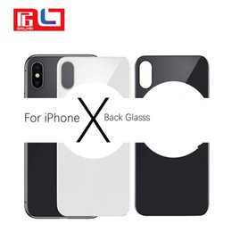 Wholesale Chassis Iphone Housing - For Apple IPhone X Back Battery Cover Rear Door Housing Case Middle Chassis Replacement For iPhone X Back Housing