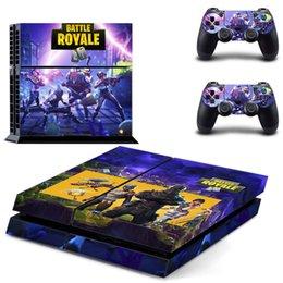 2019 набор игровых приставок Для PS4 игры Fortnite наклейка для Sony PlayStation 4 консоли контроллеры кожи наклейки Battle Royable Fortress 3 шт. Набор контроллера протектор скидка набор игровых приставок
