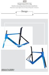 Wholesale Xs Frameset - T1000 Carbon Road Bike Frame UD Aero Frameset Road Fork headset Di2 mechanical Road bike Carbon Frame XS S M L 2018 DEACASEN