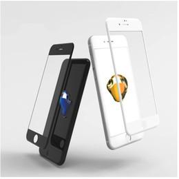 display lcd lc nexus schermo Sconti 2018 per Iphone 8 7 6 Plus 3D in fibra di carbonio Soft Edge Full Cover in vetro temperato protezione dello schermo del telefono Film Iphone HD Protector Film