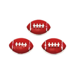 rugby charms Coupons - Hot selling 10pcs lot football floating charms sports rugby charms living glass memory lockets diy jewelry