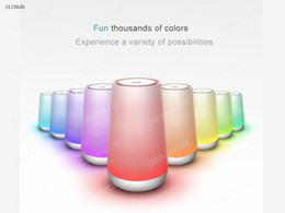 Wholesale Mp3 Player D - Bluetooth stereo colorful lights, by touch to change light color, change the light intensity, Have the function of playing m