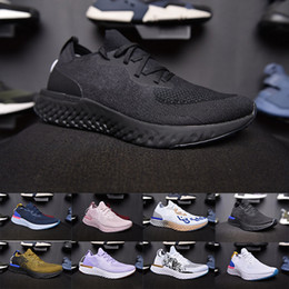 f5967dfd25 melhor mens sapatilhas casuais Desconto 2019 Melhor Qualidade Hot Épico  Reacção de tricô air mens sapatos
