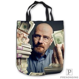 e6ed56072c4d Custom Canvas art breaking bad acrylicTote Shoulder Shopping Bag Casual Beach  HandBag Daily Use Foldable Canvas  180713-50