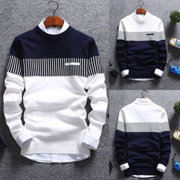 Wholesale Korean Fashion Cardigan Men - Korean Fashion Cardigan Jacket Jumper Men Knit Pullover Coat Long Sleeve Sweater