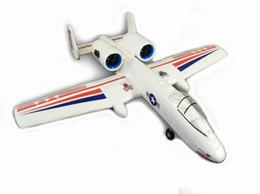 2019 kit de avión epo Envío gratis RC Avión EPO Micro Plane A10 Pusher Jet accionado por Twin 30mm EDFs / Tail Push con motor kit de avión epo baratos