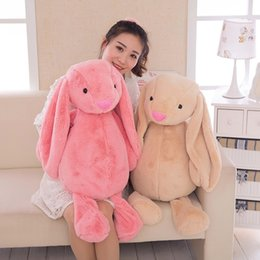 Wholesale Pink Stuffed Bunny - Lovely Colorful Bunny Rabbit Plush Toys Soft and Comfortable Animal Stuffed Toys Baby Kid Adult Gift