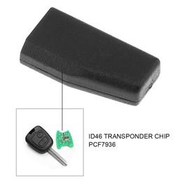 Wholesale Transponder Key Id46 - Car Key Transponder Blank ID46 Virgin Transponder Chip PCF7936 for Peugeot Citroen KEY_10R