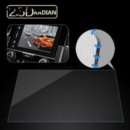navegação por gps Desconto Vehemo 9 H Car DVD Películas Protetoras Screen Protector Adesivo Mp5 Vidro Temperado Limpar Anti-Scratch