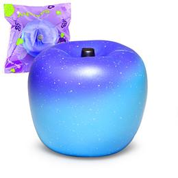 2020 оригинальная упаковка мягкая Джамбо Squishy Galaxy Apple Squishies крем душистые медленно растет Squeeze игрушка оригинальный пакет squishy игрушка добро пожаловать на купить скидка оригинальная упаковка мягкая