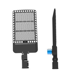 Wholesale photocell outdoor lighting - LED Shoebox Parking Lot Lights 100W 150W 200W IP66 Waterproof Outdoor Street Pole Light with UL & DLC Listed Photocell sensor auto on off