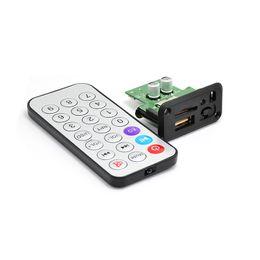 Песня mp3 онлайн-Детская лаборатория DIY Song Module Mini MP3 Decoder Audio Decoding Board 3,5 мм разъем для наушников для использования поддержка WAV U-Disk TF Card USB
