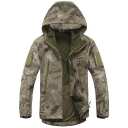 skins clothing Coupons - 2017 High quality Lurker Shark skin Soft Shell TAD V 5.0 Tactical Jackets Men Waterproof Windproof Army jacket Clothing