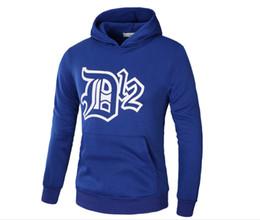 Wholesale Dota Hoodie - New Spring Autumn Winter Eminem D12 Hedging Trend Hip Hop Sweatshirt Hoodie DotA DOTA2 Fleece Sweater DK Pullover Sweater